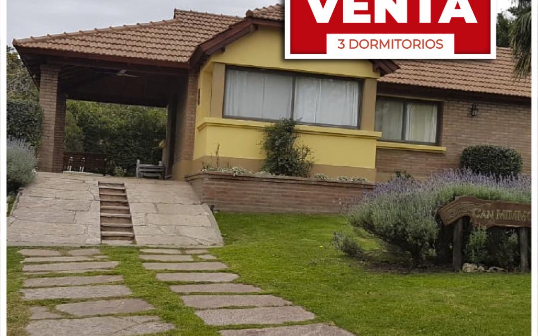 VENTA CASA (Country Cerrado), Merlo San Luis, 3 Dorm.