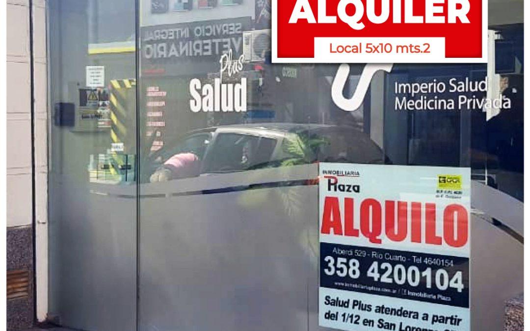 ALQUILER LOCAL, Deán Funes 30, 50×10 mts.2